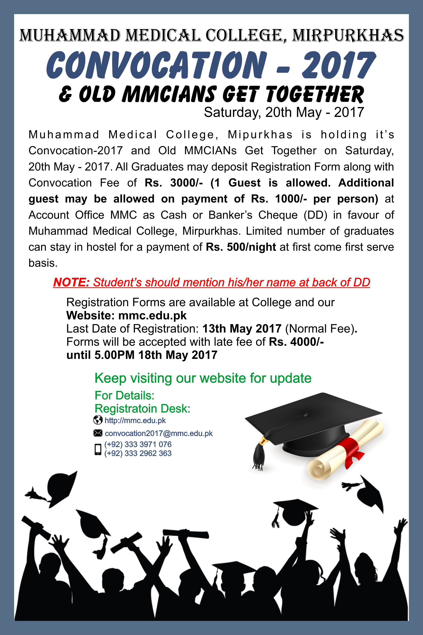 Official Website | Muhammad Medical College (MMC)